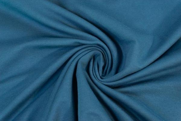 Baumwolljersey Anna dunkelblau Ökotex 100