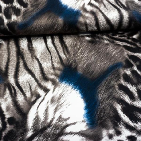Jersey Soft Skin Animal taupe