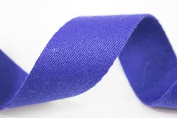 Gurtband 40mm royalblau 100% Baumwolle Ökotex 100