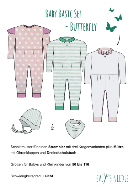 eBook Kinderset Butterfly by EvLis-Needle