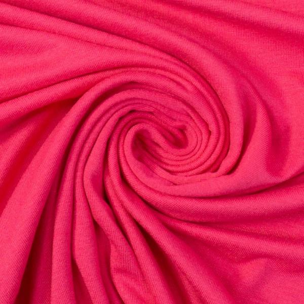 Viskosejersey Uni Vicky pink