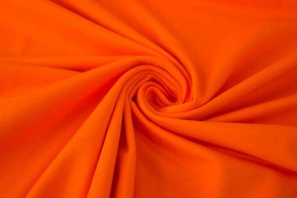 Bündchen Feinstrick Uni orange Ökotex 100