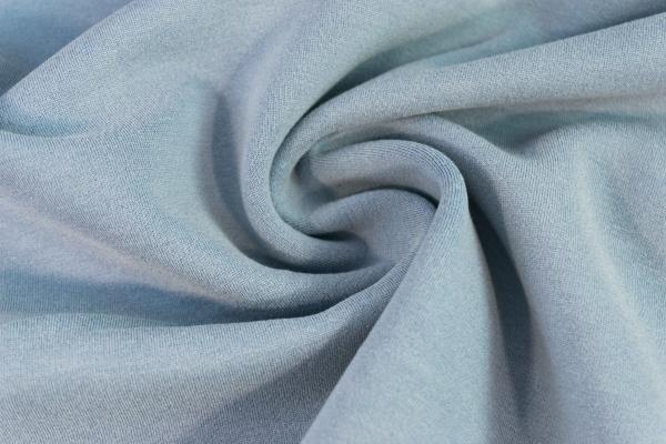 Baumwoll Hosenstoff Romanit-Jersey Punta-Jersey dusty blue Ökotex 100