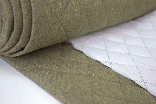 Taschenstoff Steppstoff Moskau-Style khaki