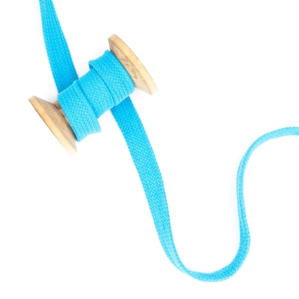 Flachkordel 20mm - Hoodie Kordel türkis