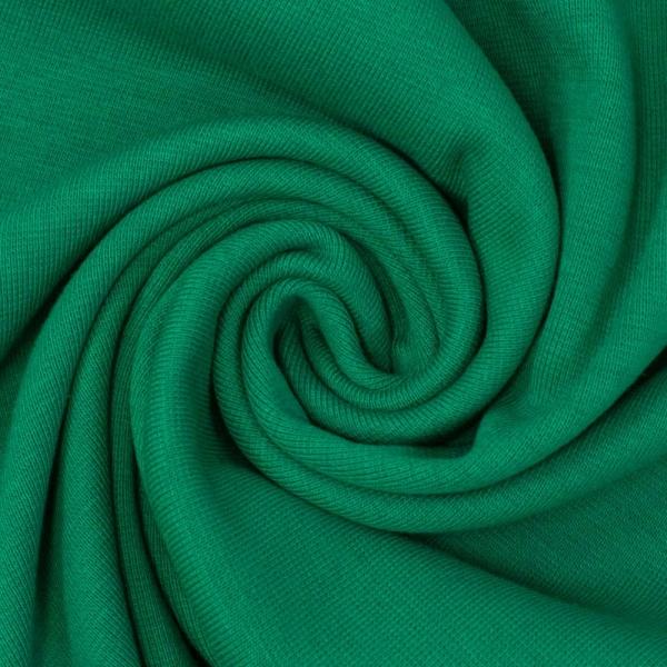 Bio Bündchen Feinstrick grün Ökotex 100