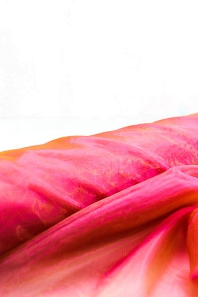 Organza Two Tone pink-orange