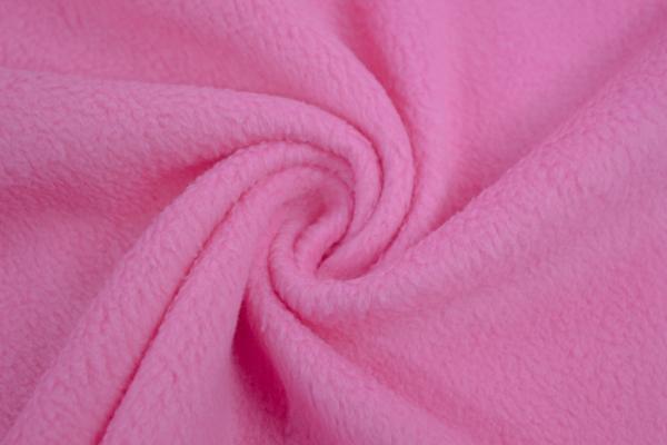 Antipilling Fleece pink Ökotex 100