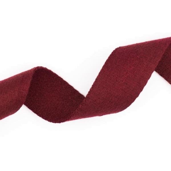 Soft Gurtband 40mm bordeaux