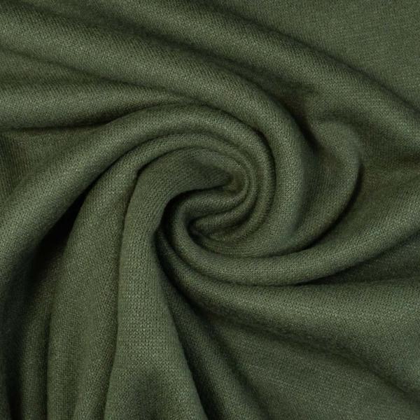 Strickjersey Cuddly Soft UNI khaki