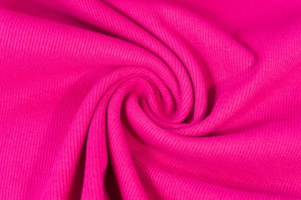 Bündchen Fein-Ripp pink beere -hohe Sprungkraft- Ökotex 100