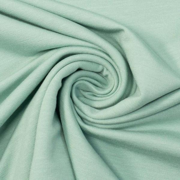 Bamboo Sommersweat Soft Uni mint