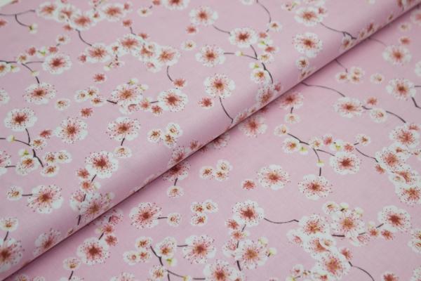 Gütermann Blooms Kirschblüten rose Öko Tex 100