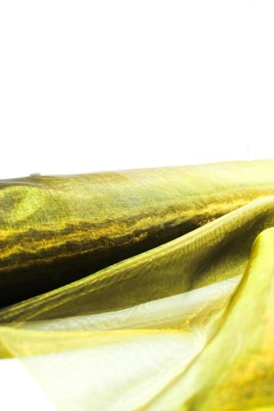 Organza Two Tone gold-khaki