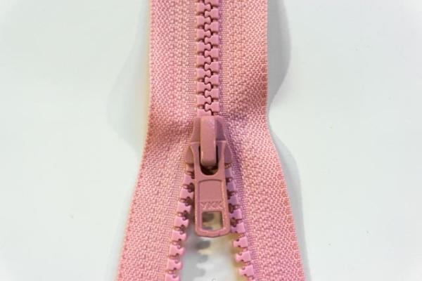 YKK teilbarer Reißverschluss Jacken Krampe rosa Ökotex 100