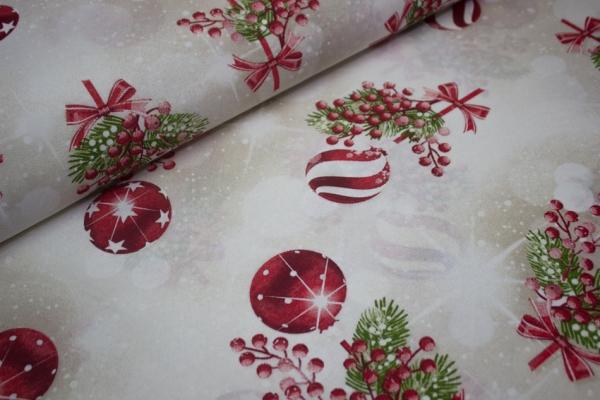 Canvas Mistletree hellbeige 100% Baumwolle Ökotex 100