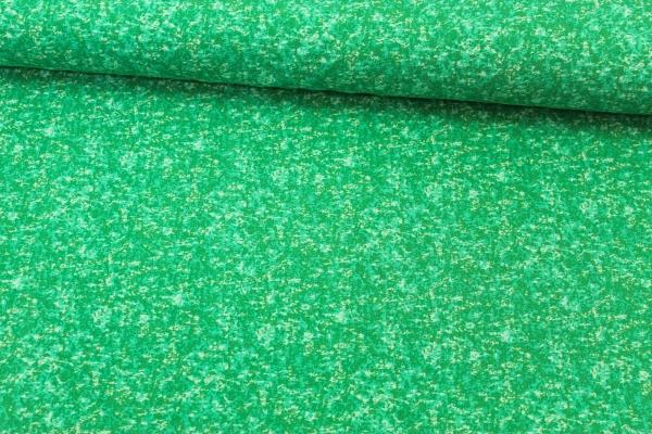 Baumwolljersey marmoriert apfelgrün Öko Tex 100