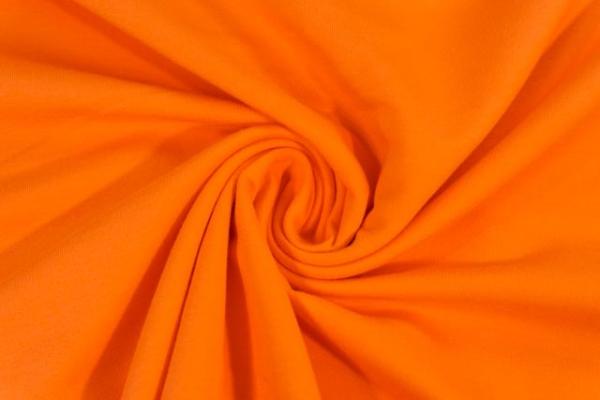 Sweat Anna - French Terry orange Ökotex 100