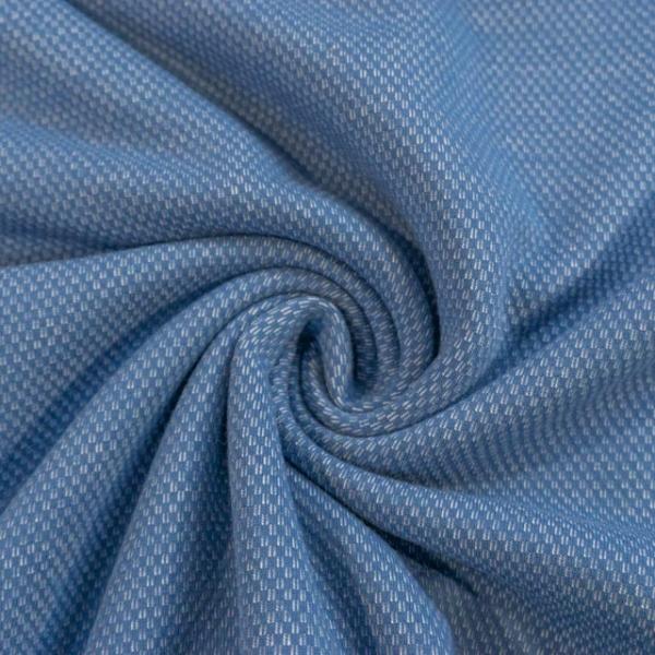 Strick-Sweat Ben angeraut jeansblau Ökotex 100