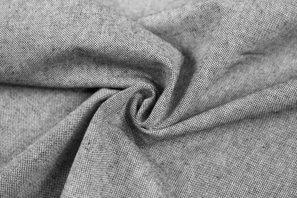 Canvas Uni MELIERT schwarz 100% Baumwolle Ökotex 100