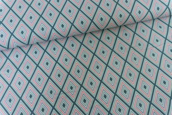 Gütermann Cosy Mood Tetragon grün Öko Tex 100