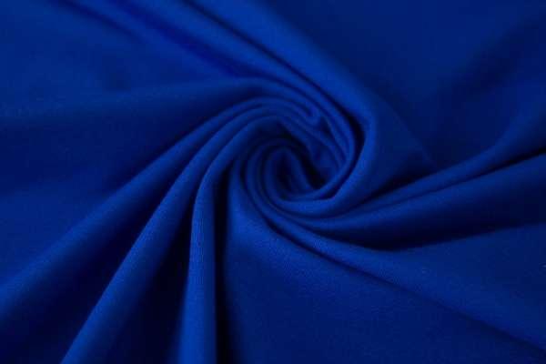 Bündchen Feinstrick Uni royalblau Ökotex 100