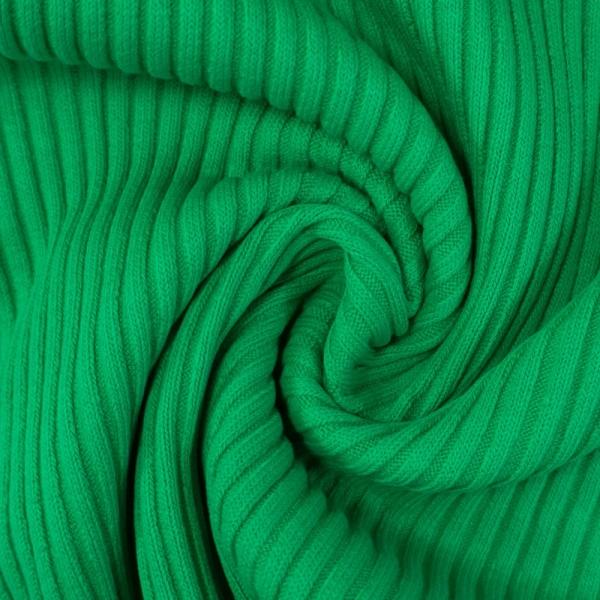 Grobstrickbündchen HEAVY grün