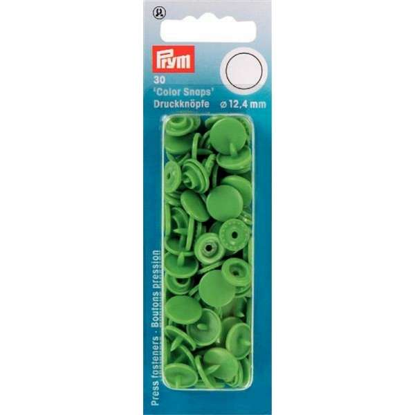 Prym Color Snaps hellgrün rund 12,4mm