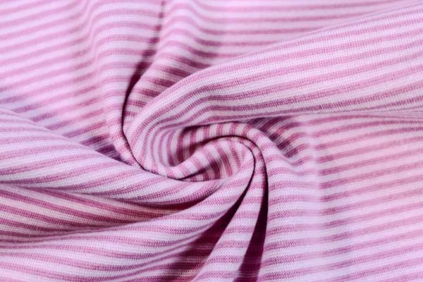 Ringel Bündchen Feinstrick rosa-dunkelrosa Ökotex 100