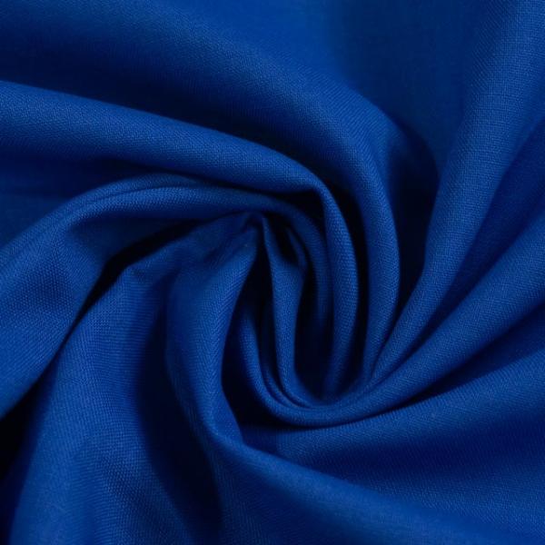 Baumwollwebware Fahnentuch Uni royalblau Ökotex 100