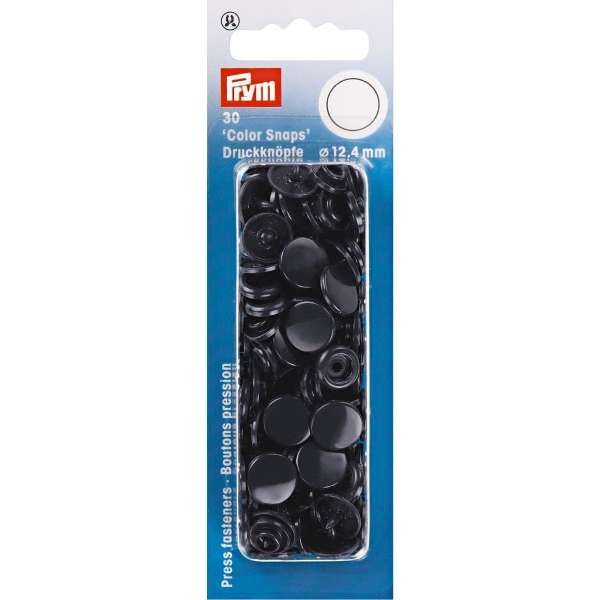 Prym Color Snaps navy rund 12,4mm