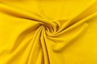 Baumwolljersey SCHWER UNI gelb -hohe Sprungkraft- Ökotex 100