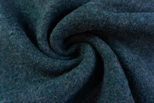 Walk 100% Schurwolle MELIERT jeansblau 410gr/m²