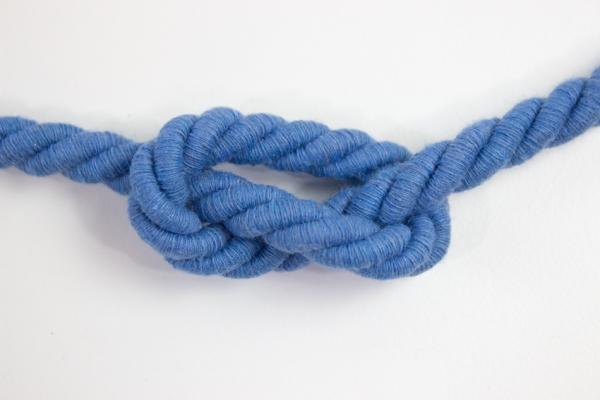 10mm Kordel gedreht jeansblau hell Atlaskordel Baumwolle Ökotex 100