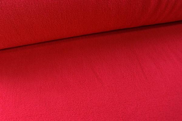 Baumwoll Fleece Sweat Rot Ökotex 100