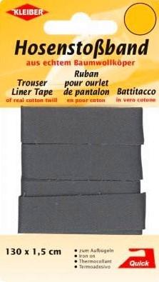 Hosenstoßband dunkelgrau