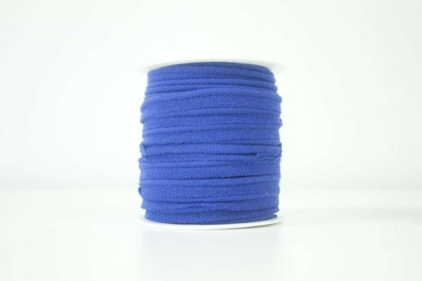 Jersey Paspelband royalblau elastisch