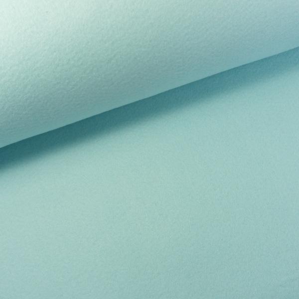 Filz 2mm Extra Breit Uni hellblau