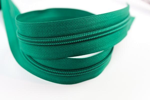 Endlosreißverschluss grün 16mm Ökotex 100
