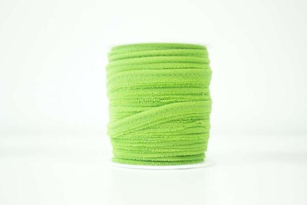 Jersey Paspelband lime elastisch