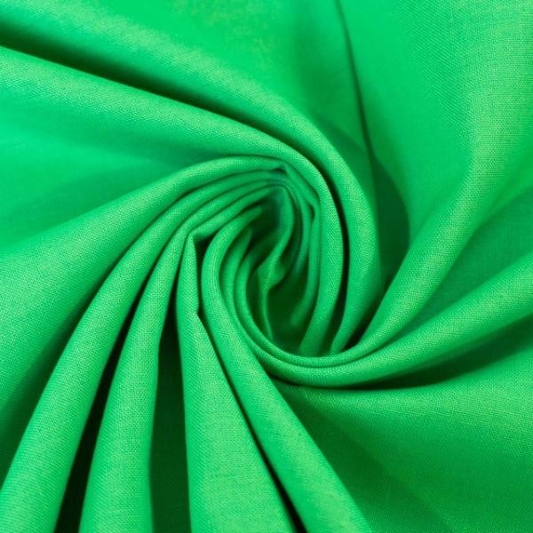 Baumwollwebware Fahnentuch Uni apfelgrün Ökotex 100