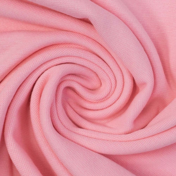 Bündchen Feinstrick UNI rosa