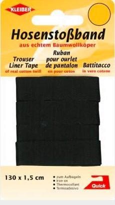 Hosenstoßband schwarz