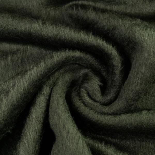 Wollstoff Mantelflausch tannengrün 300gr/m² Ökotex 100
