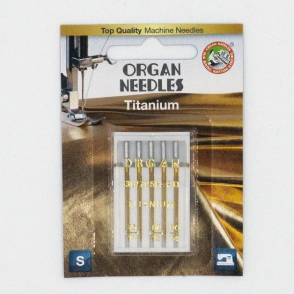 Organ Titanium 5 Stk. Stärke 75-90