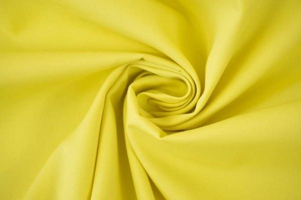 Baumwolle/Webware Uni gelb Ökotex 100