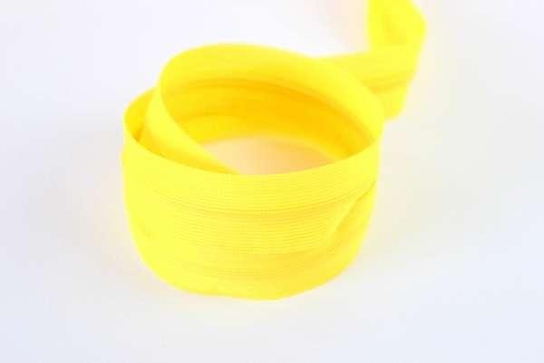 Nahtverdeckter Reißverschluss gelb unsichtbar Ökotex 100