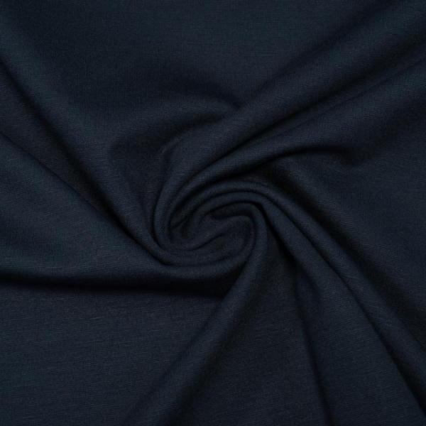 Schwerer Romanit Jersey Uni dark navy