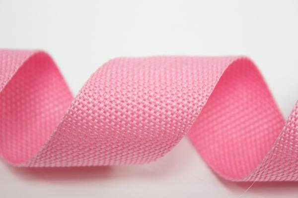Gurtband 40mm rosa Polyester Ökotex 100